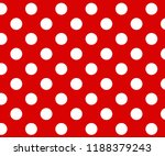 vintage polka dots white and... | Shutterstock .eps vector #1188379243