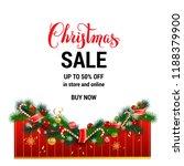 christmas festive holiday...   Shutterstock .eps vector #1188379900
