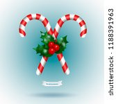 traditional christmas decor... | Shutterstock .eps vector #1188391963