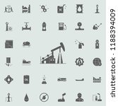 oil rig icon. oil icons... | Shutterstock .eps vector #1188394009