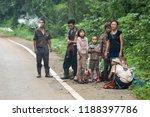 tha song yang  tak  thailand  ... | Shutterstock . vector #1188397786