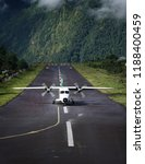 lukla  nepal   20 september... | Shutterstock . vector #1188400459