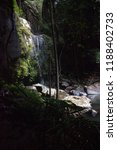 curtis falls in mount tamborine | Shutterstock . vector #1188402733