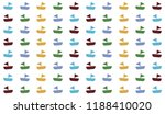 boat pattern background | Shutterstock .eps vector #1188410020