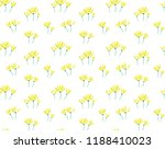 flower pattern background | Shutterstock .eps vector #1188410023