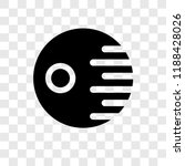 death star vector icon isolated ... | Shutterstock .eps vector #1188428026