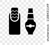 nail polish vector icon... | Shutterstock .eps vector #1188431149