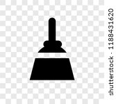 broom vector icon isolated on... | Shutterstock .eps vector #1188431620