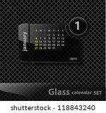 glass calendar 2013 the mounth...