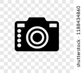 camera vector icon isolated on... | Shutterstock .eps vector #1188434860