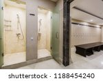cloakroom in the hotel or gym ... | Shutterstock . vector #1188454240
