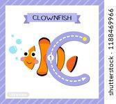 letter c uppercase cute... | Shutterstock .eps vector #1188469966