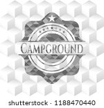 campground realistic grey... | Shutterstock .eps vector #1188470440