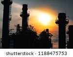 glow light of petrochemical... | Shutterstock . vector #1188475753
