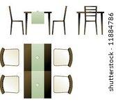 modern furniture | Shutterstock .eps vector #11884786