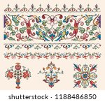vintage flourish ornament... | Shutterstock .eps vector #1188486850