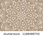 mandala background in graphic... | Shutterstock .eps vector #1188488743