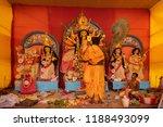 kolkata   india   september 27  ... | Shutterstock . vector #1188493099
