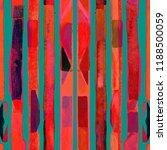 bauhaus pattern. pink red...   Shutterstock . vector #1188500059