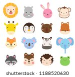 group of animals collection   Shutterstock .eps vector #1188520630