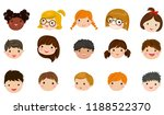 vector illustration set of... | Shutterstock .eps vector #1188522370