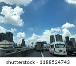 traffic in the city in rush...   Shutterstock . vector #1188524743