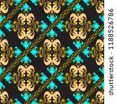 baroque ornate seamless pattern.... | Shutterstock .eps vector #1188526786