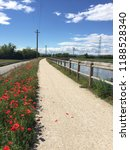 bicycle track along the river....