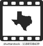 vector map of texas | Shutterstock .eps vector #1188538639