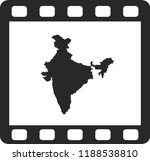 vector map of india | Shutterstock .eps vector #1188538810
