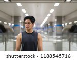 young handsome asian man... | Shutterstock . vector #1188545716