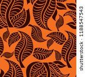 vector seamless floral pattern... | Shutterstock .eps vector #1188547543