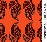 vector seamless floral pattern... | Shutterstock .eps vector #1188547546