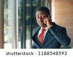 african american businessman...   Shutterstock . vector #1188548593