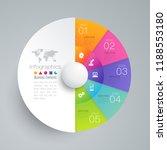 infographics design vector and... | Shutterstock .eps vector #1188553180