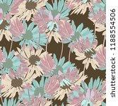 beautiful seamless floral... | Shutterstock .eps vector #1188554506