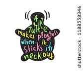 a turtle makes progress when it ... | Shutterstock .eps vector #1188558346
