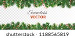 seamless vector decoration... | Shutterstock .eps vector #1188565819