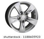 alloy wheel or rim or wheel of... | Shutterstock . vector #1188605923