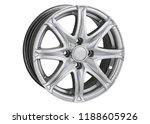alloy wheel or rim or wheel of... | Shutterstock . vector #1188605926