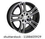 alloy wheel or rim or wheel of... | Shutterstock . vector #1188605929
