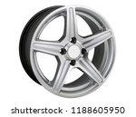 alloy wheel or rim or wheel of... | Shutterstock . vector #1188605950