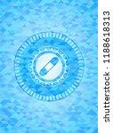 bandage plaster icon inside... | Shutterstock .eps vector #1188618313