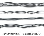 electric cables.realistic... | Shutterstock .eps vector #1188619870