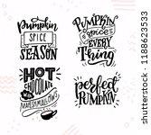 set of four inspirational...   Shutterstock .eps vector #1188623533