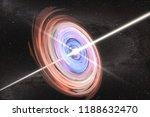 art concept of disruption of a... | Shutterstock . vector #1188632470