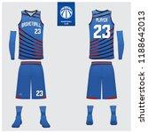 basketball uniform or sport... | Shutterstock .eps vector #1188642013