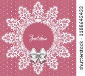 wedding card or invitation... | Shutterstock .eps vector #1188642433