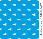 megaphone pattern seamless blue ...