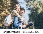 portrait of young smiling... | Shutterstock . vector #1188660523